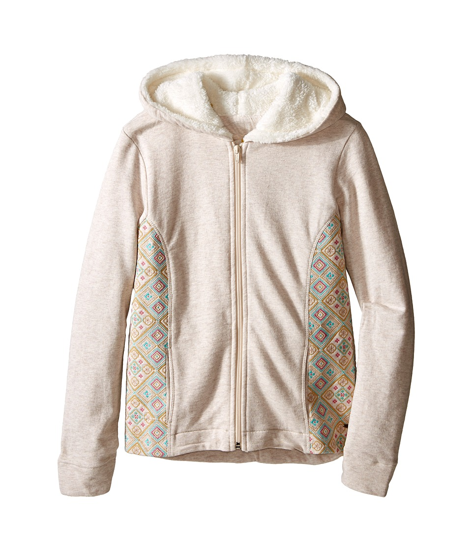 O'Neill Kids - Amber Hoodie (Big Kids) (Oatmeal Heather) Girl's Sweatshirt