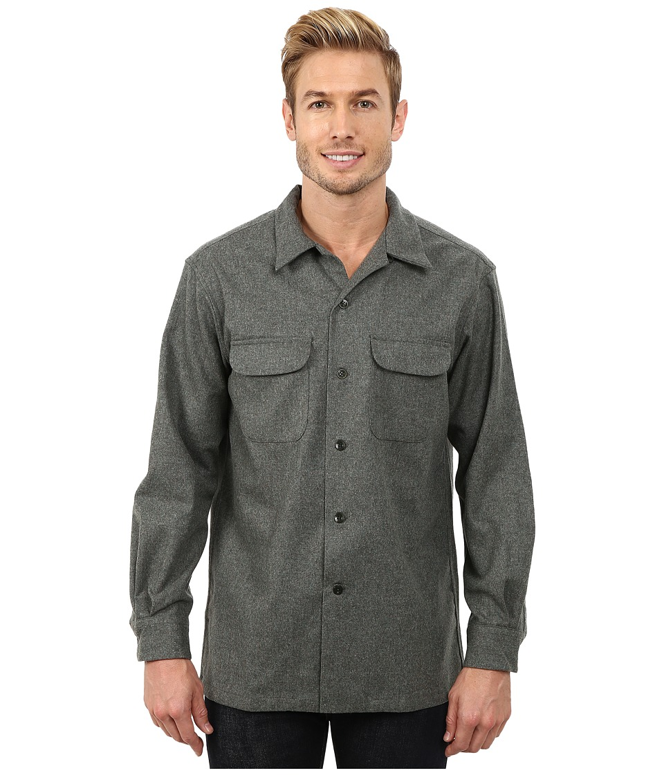 Pendleton - Board Shirt (Green Mix Solid) Men