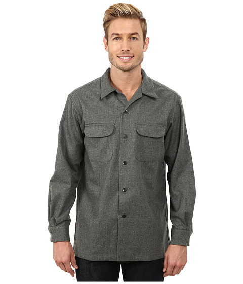 Pendleton - Board Shirt (Green Mix Solid) Men's Clothing