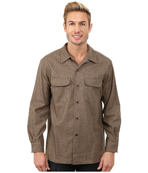 Pendleton - Board Shirt (Taupe Solid) Men's Clothing