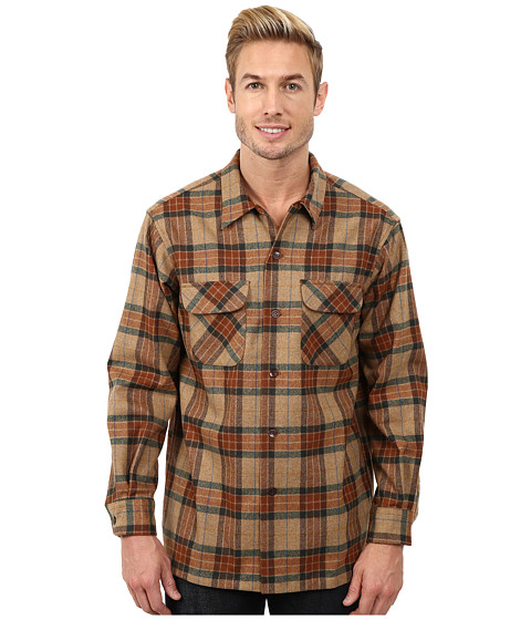 Pendleton - Board Shirt (Ranger Brown Plaid) Men's Clothing