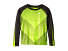 Chevron Squares Dri-Fit Long Sleeve Raglan Shirt