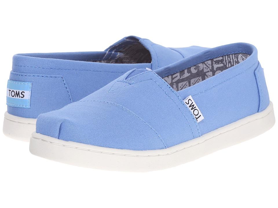 TOMS Kids - Seasonal Classics (Little Kid/Big Kid) (Regatta Blue Canvas) Kids Shoes