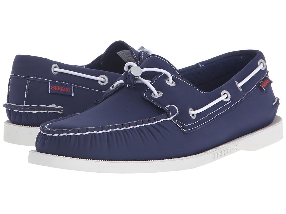 Sebago - Dockside Ariaprene (Navy Neoprene) Men's Shoes