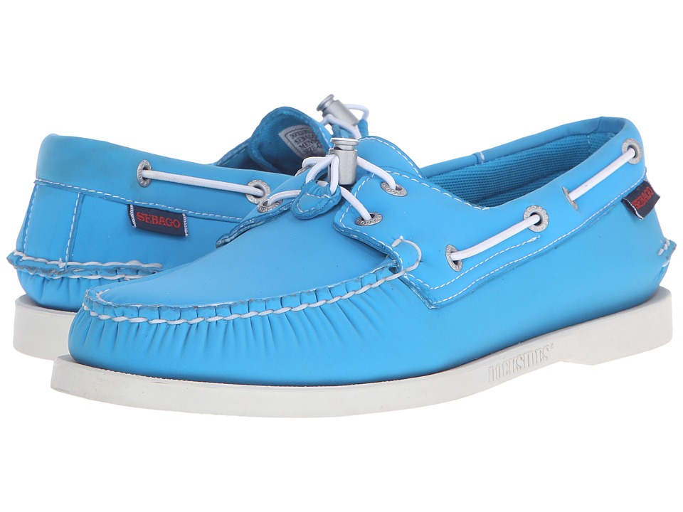 Sebago - Dockside Ariaprene (Aqua Blue Neoprene) Men's Shoes