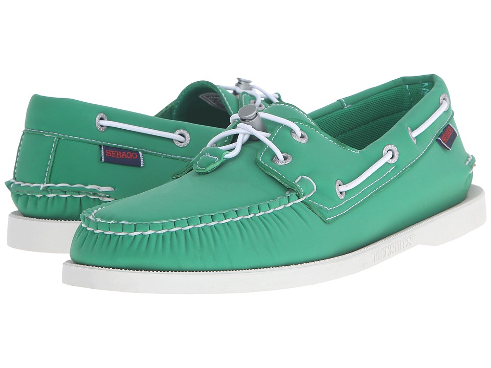 Sebago - Dockside Ariaprene (Green Neoprene) Men's Shoes