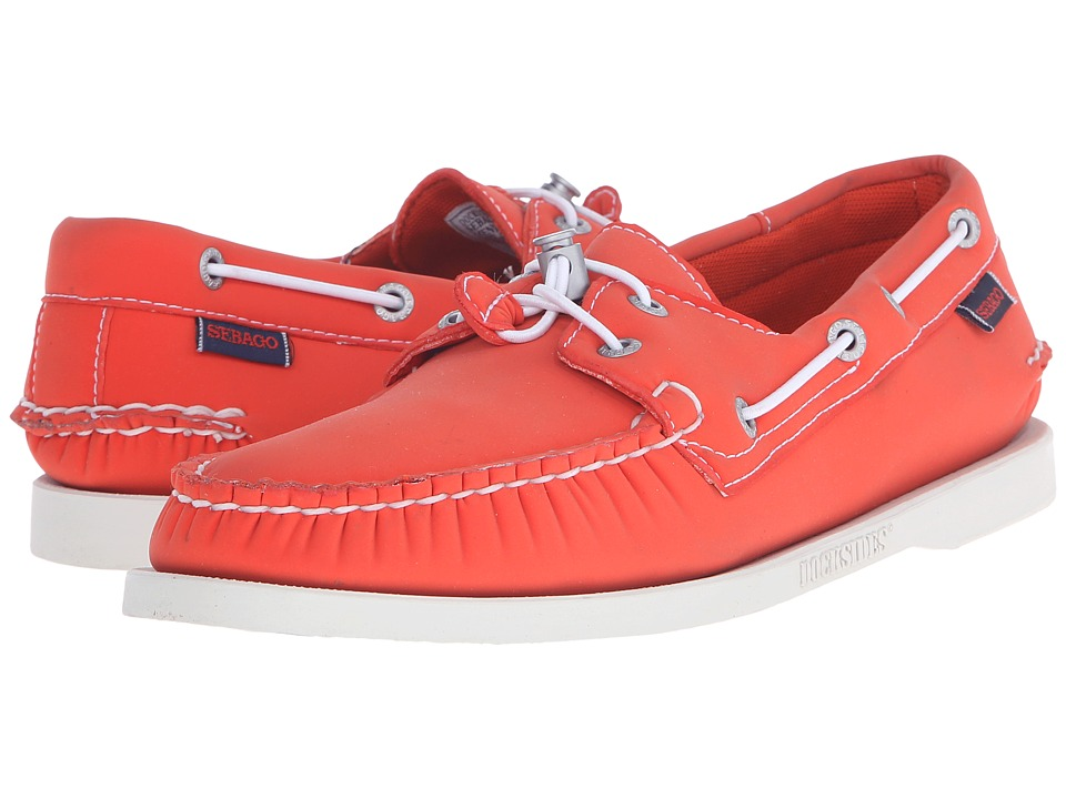 Sebago - Dockside Ariaprene (Orange Neoprene) Men's Shoes