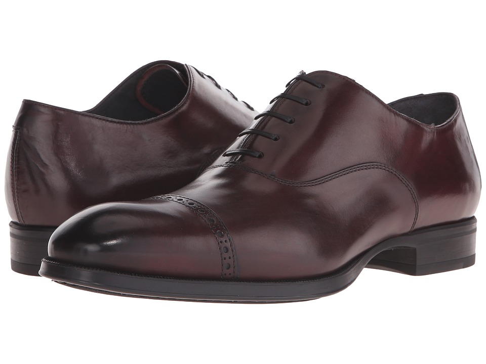To Boot New York - Derek (Bordo) Men's Lace Up Wing Tip Shoes