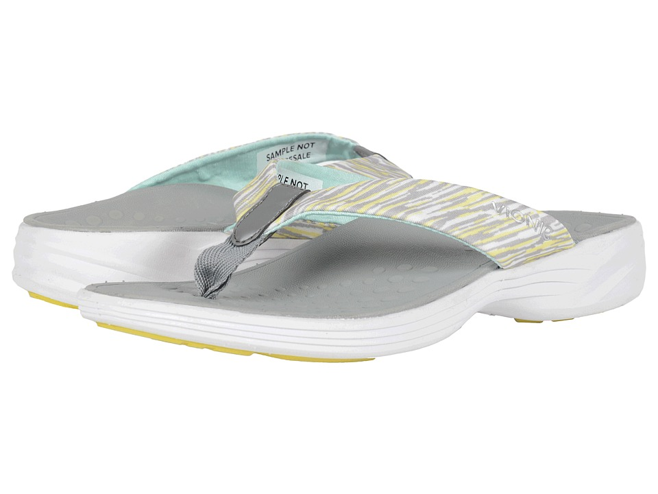 VIONIC - Serene Kapel (Grey Yellow) Women's Sandals