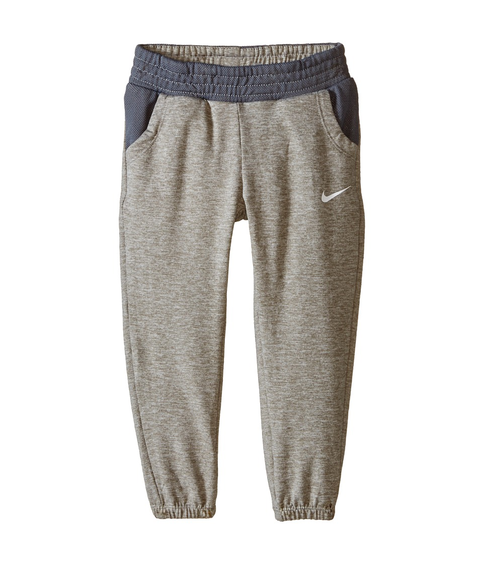 Nike Kids - Dri-Fit Sport Essentials Slim Elastic Cuff Pants (Toddler) (Dark Grey Heather) Girl's Casual Pants