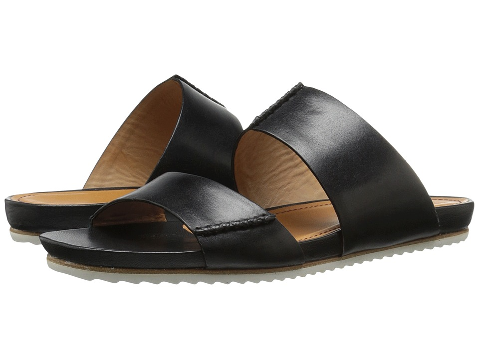 Trask - Shea (Black Calfskin) Women's Sandals