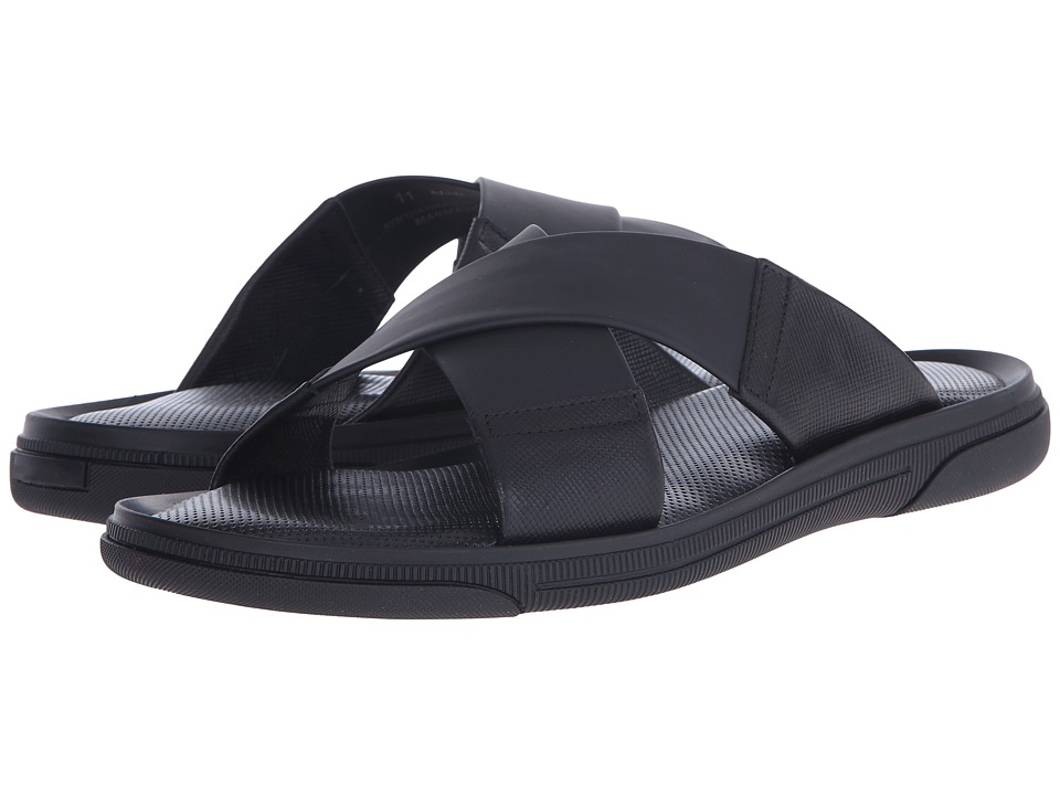 To Boot New York - Bridge (Black) Men's Slide Shoes