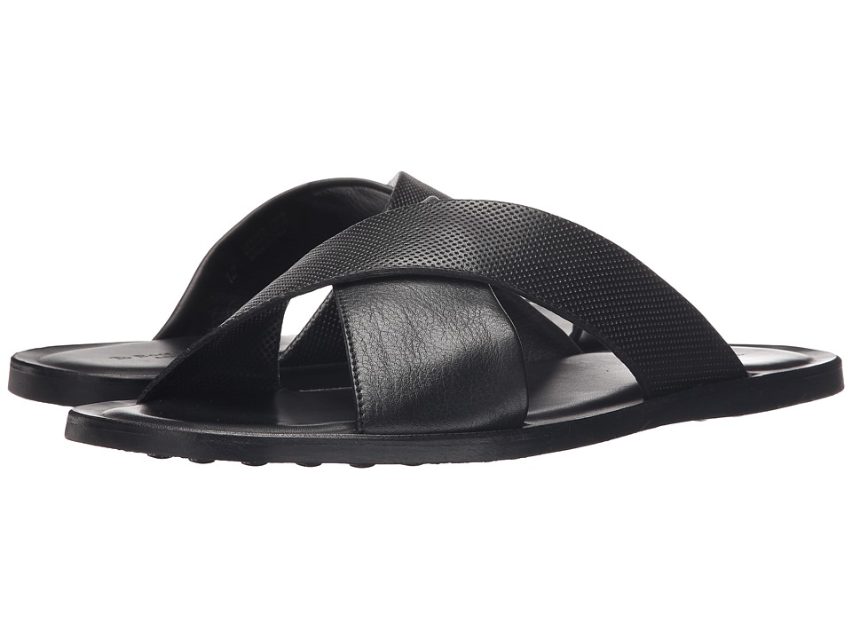 To Boot New York - Bond (Black) Men's Slide Shoes