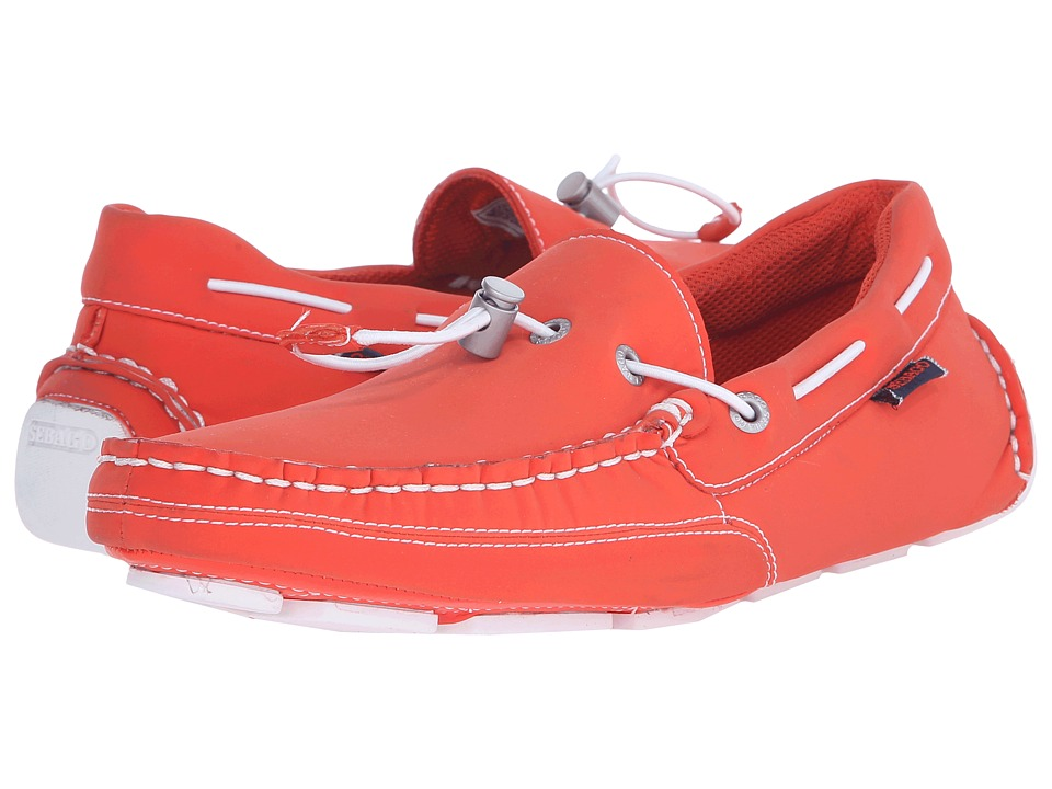 Sebago - Kedge Tie Ariaprene (Orange Ariaprene) Men's Slip on Shoes