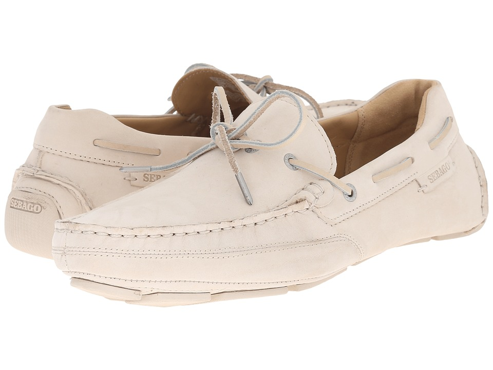 Sebago - Kedge Tie (Beige Nubuck) Men's Shoes