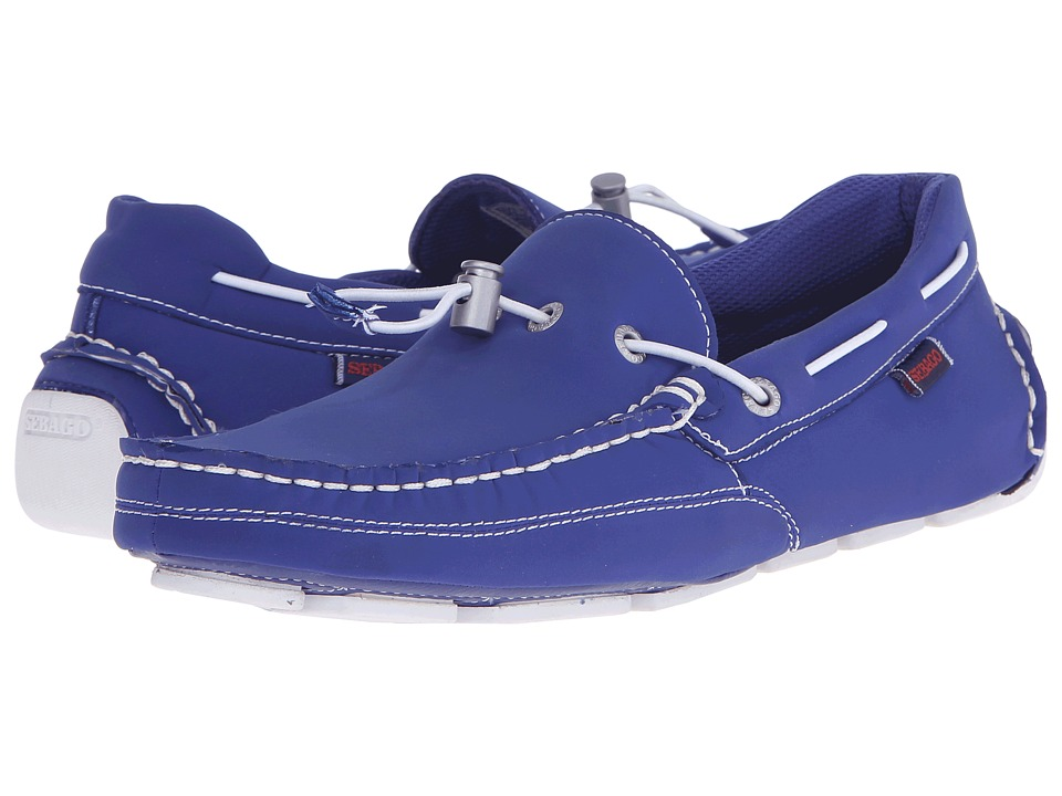 Sebago Kedge Tie Ariaprene (Dark Blue Ariaprene) Men