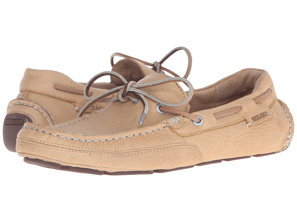 Sebago - Kedge Tie (Tan Bison Leather) Men's Shoes