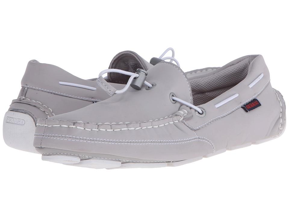 Sebago - Kedge Tie Ariaprene (Grey Ariaprene) Men's Slip on Shoes