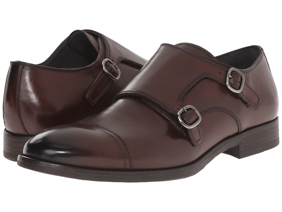 To Boot New York - Exeter (Chocolate) Men's Monkstrap Shoes