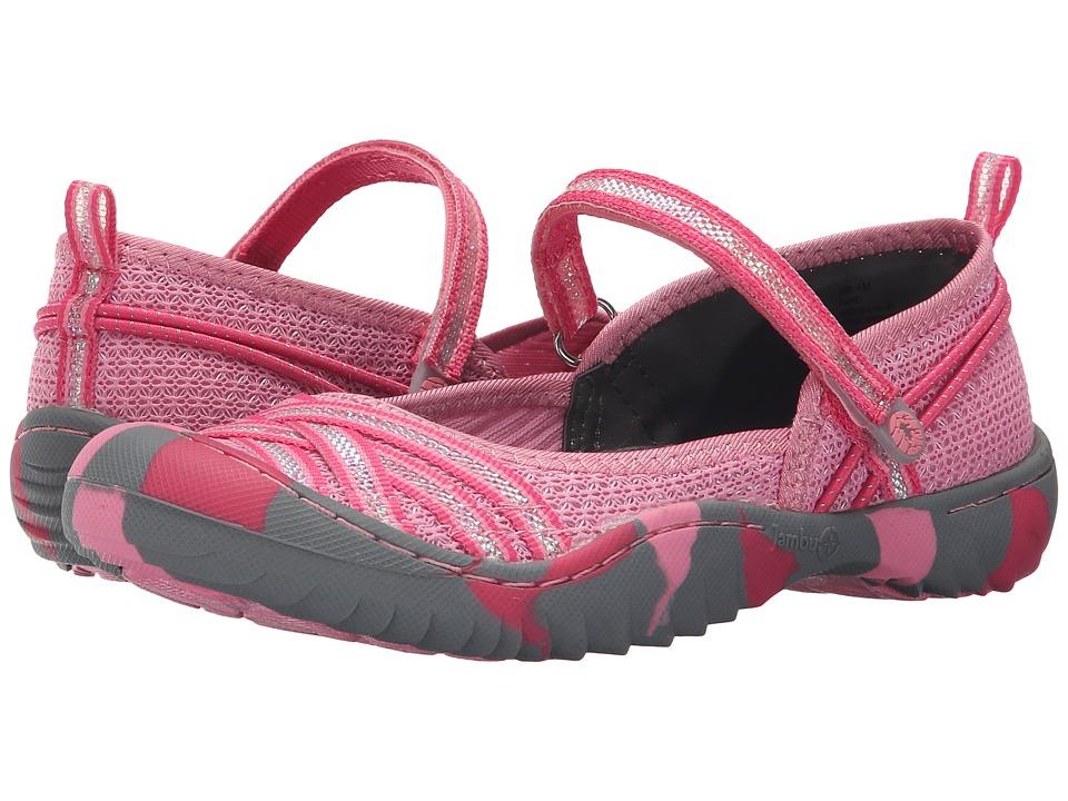 Jambu Kids - Fia 4 (Toddler/Little Kid/Big Kid) (Starfish Pink) Girls Shoes
