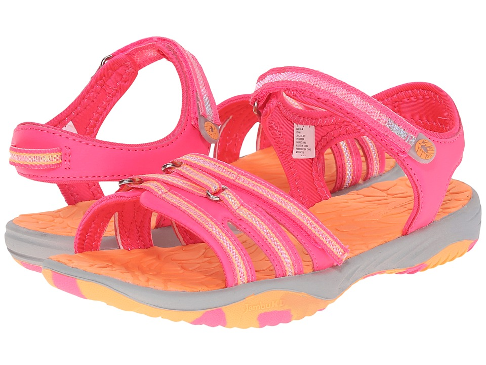 Jambu Kids - Lowi (Toddler/Little Kid/Big Kid) (Hot Pink) Girls Shoes