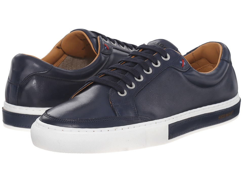 Sebago Robinson Lace-Up (Navy Leather) Men