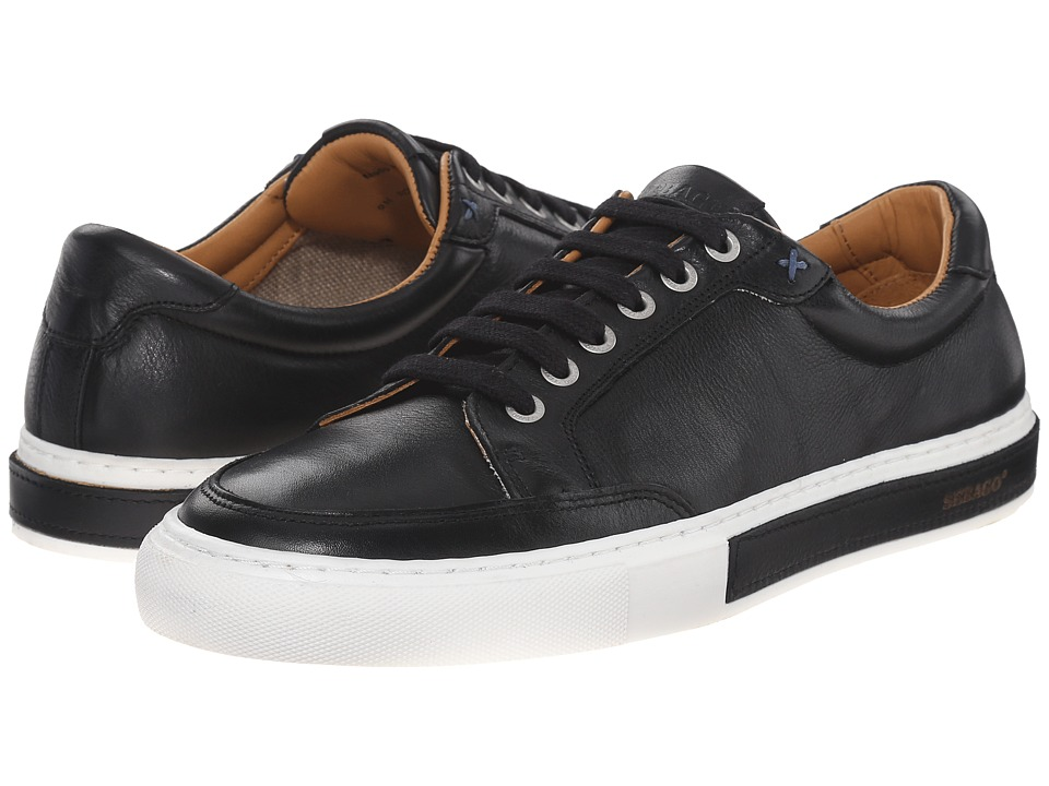 Sebago Robinson Lace-Up (Black Leather) Men