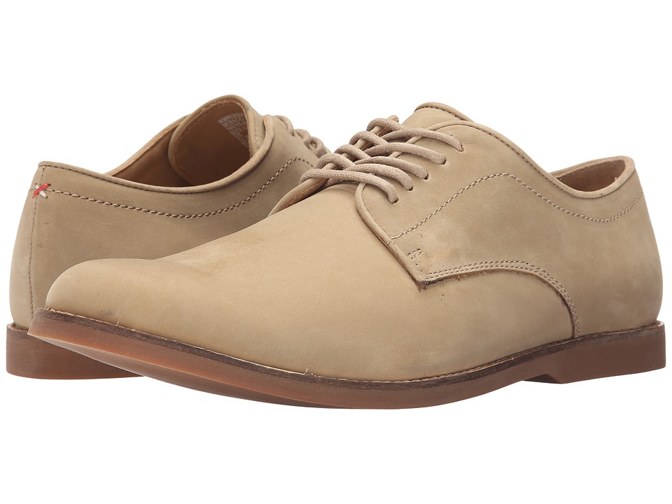Sebago - Norwich Oxford (Taupe Nubuck) Men's Lace up casual Shoes