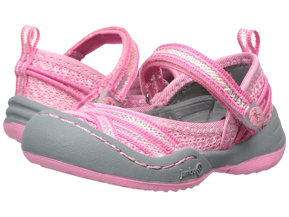 Jambu Kids - Fia 3 (Toddler) (Macaron) Girls Shoes