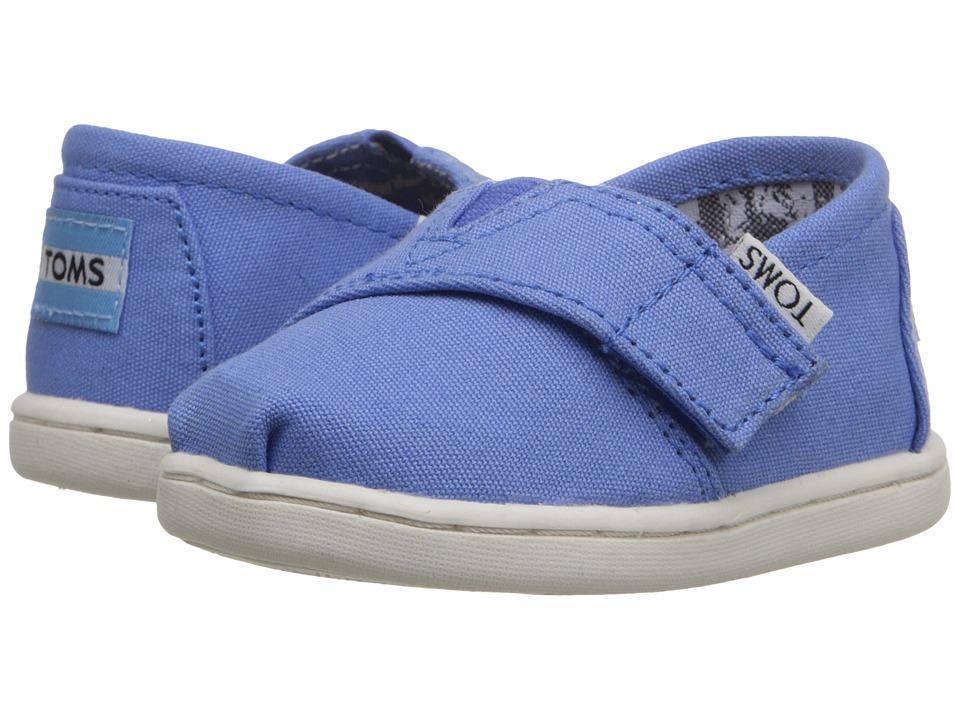 TOMS Kids - Seasonal Classics (Infant/Toddler/Little Kid) (Regatta Blue Canvas) Kids Shoes