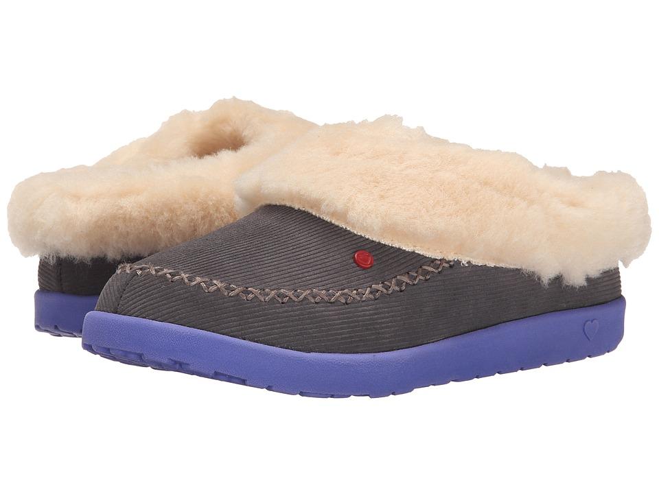 UGG Kids - Slip Stripe (Little Kid/Big Kid) (Plum Kitten) Girls Shoes