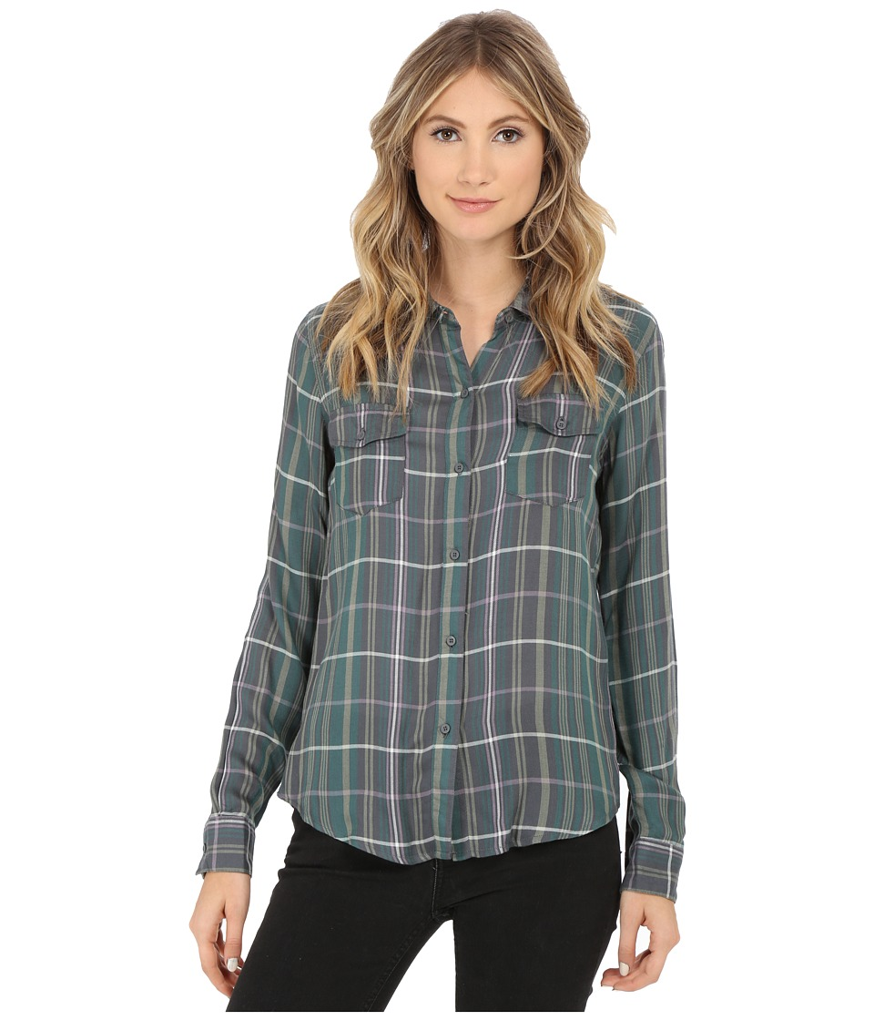 O'Neill - Norma Top (Multi Colored) Women's Long Sleeve Button Up