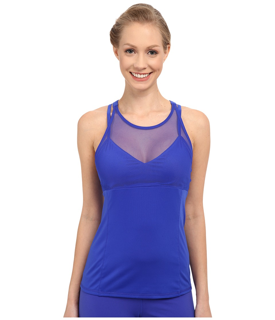 ALO - Carmen Bra Tank Top (Deep Electric Blue) Women's Bra