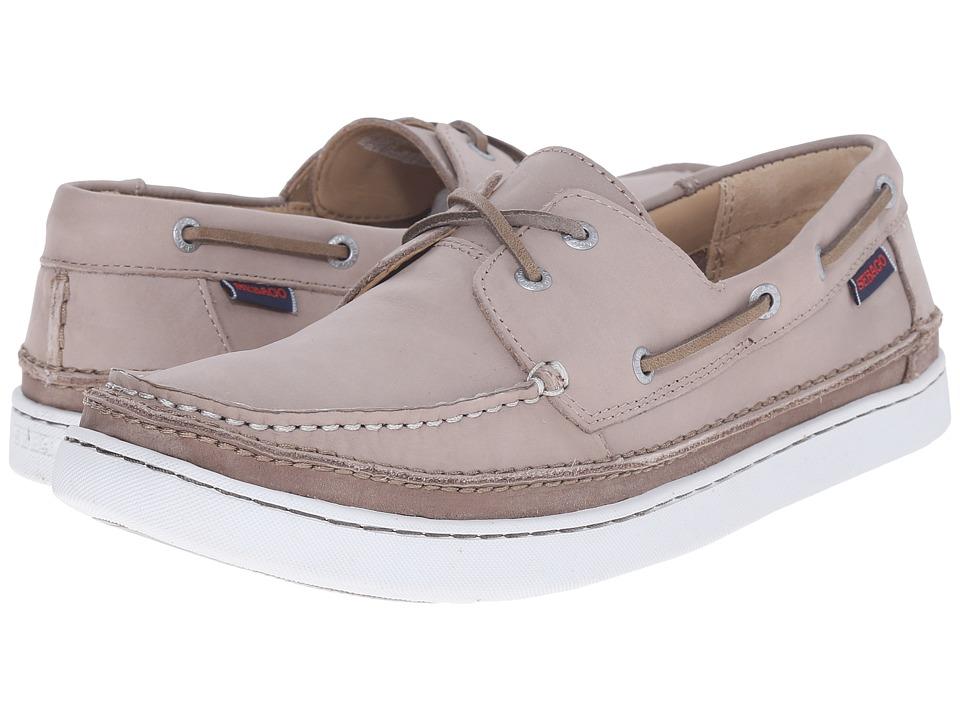 Sebago - Ryde Two Eye (Light Grey Leather) Men's Shoes