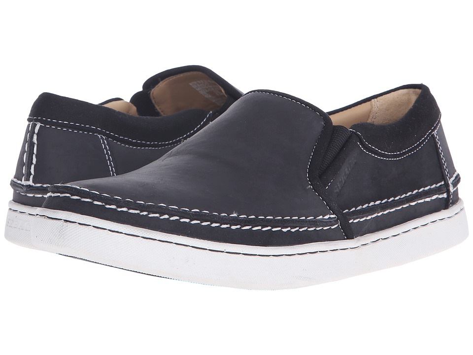 Sebago - Ryde Slip-On (Black Leather) Men's Slip on Shoes