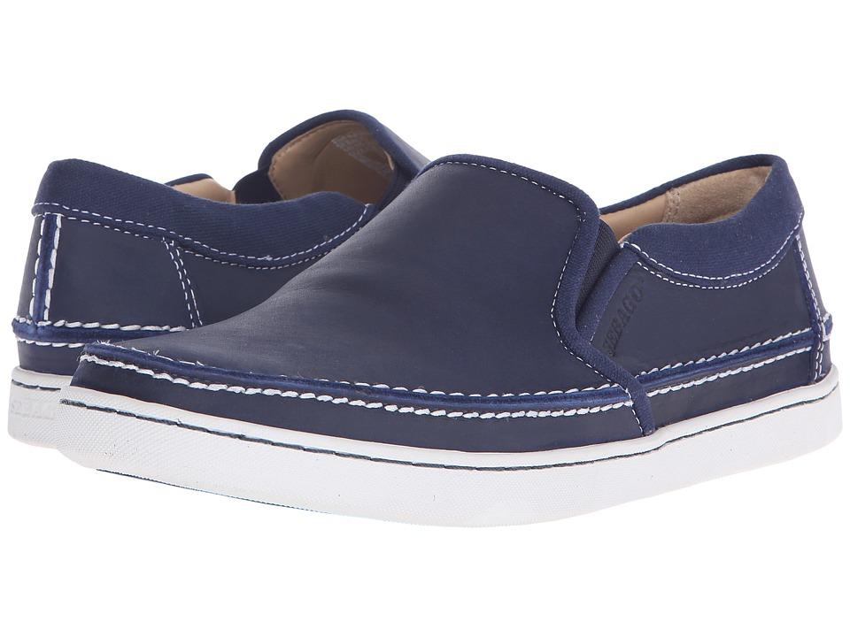 Sebago - Ryde Slip-On (Navy Leather) Men's Slip on Shoes