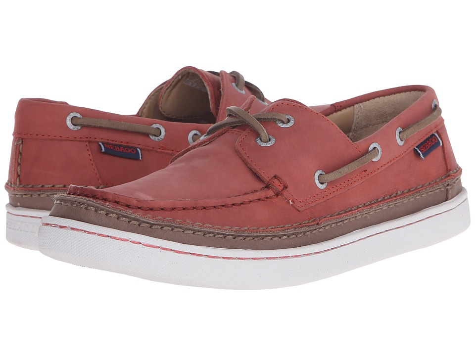 Sebago - Ryde Two Eye (Rust Leather) Men's Shoes