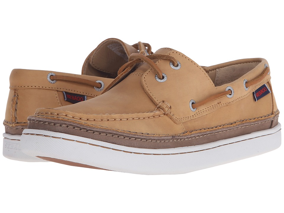 Sebago - Ryde Two Eye (Golden Tan Leather) Men's Shoes