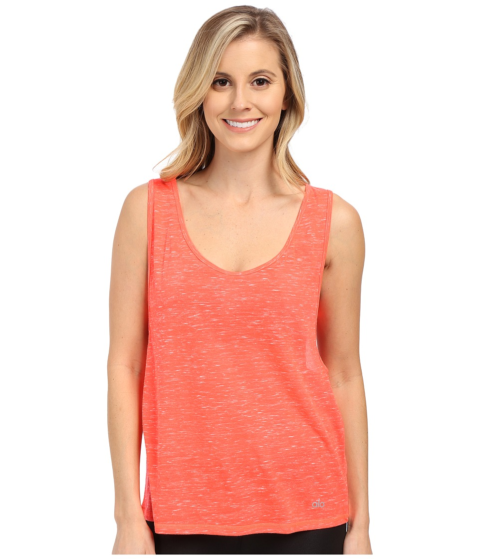ALO - Marina Tank Top (Volcano Marble) Women's Sleeveless