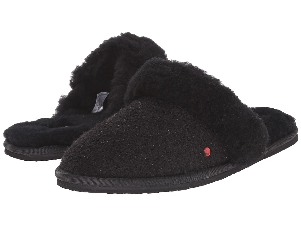 UGG Kids - Finn (Little Kid/Big Kid) (Black) Girls Shoes