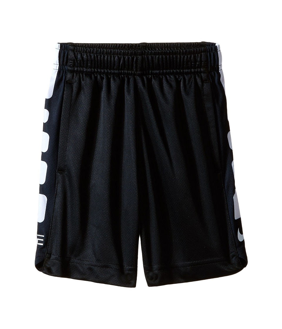Nike Kids - Elite Stripe Shorts (Toddler) (Black) Boy's Shorts