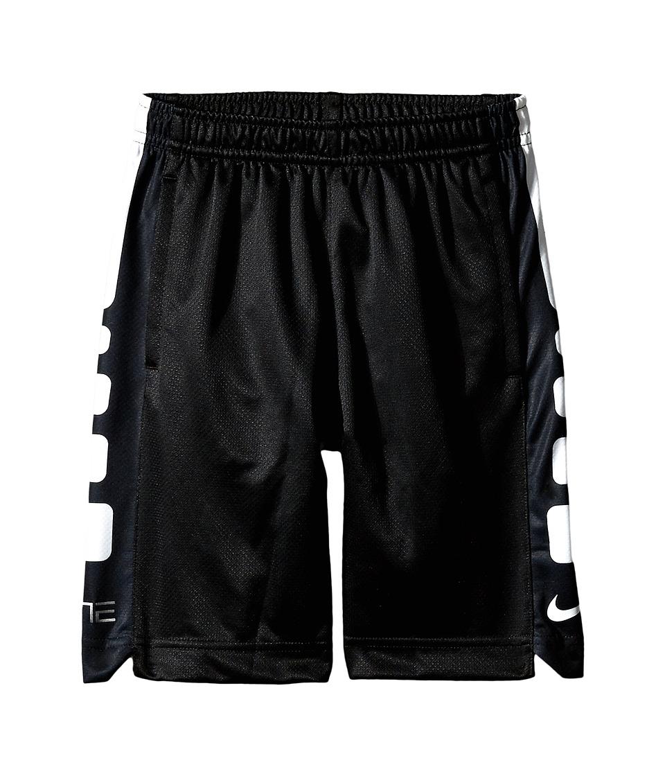 Nike Kids - Elite Stripe Shorts (Little Kids) (Black) Boy's Shorts