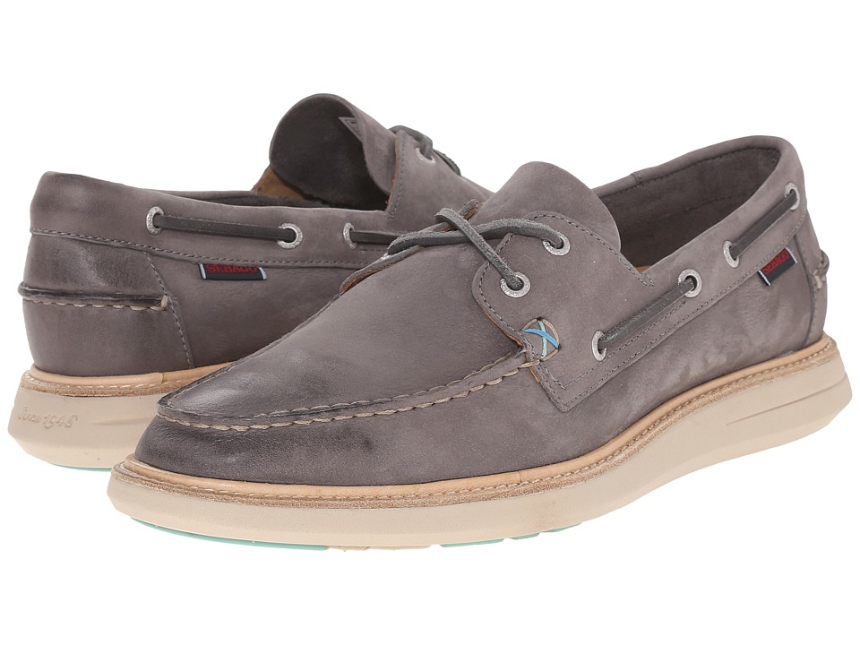 Sebago - Smyth Two Eye (Dark Grey Nubuck) Men's Shoes