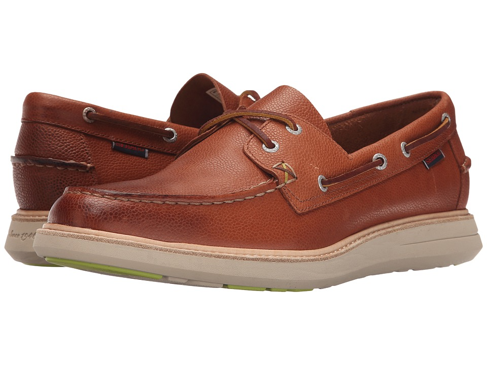 Sebago - Smyth Two Eye (Brown Leather) Men's Shoes