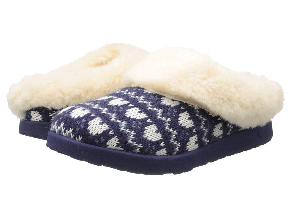 UGG Kids - Slip Fair Isle (Little Kid/Big Kid) (Cosmic Purple) Girls Shoes