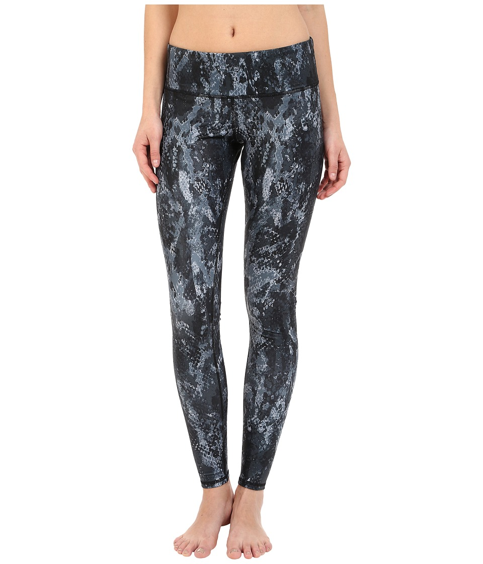 ALO - Airbrushed Legging (Black Python) Women's Workout
