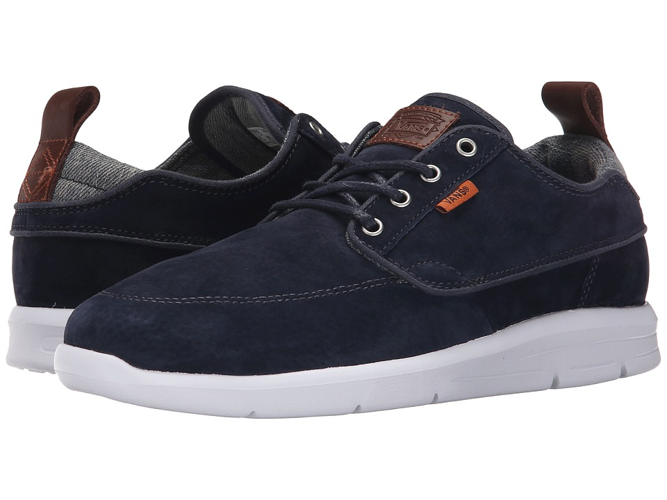 Vans - Brigata Lite + ((Suede) Blue/Chambray) Men's Skate Shoes