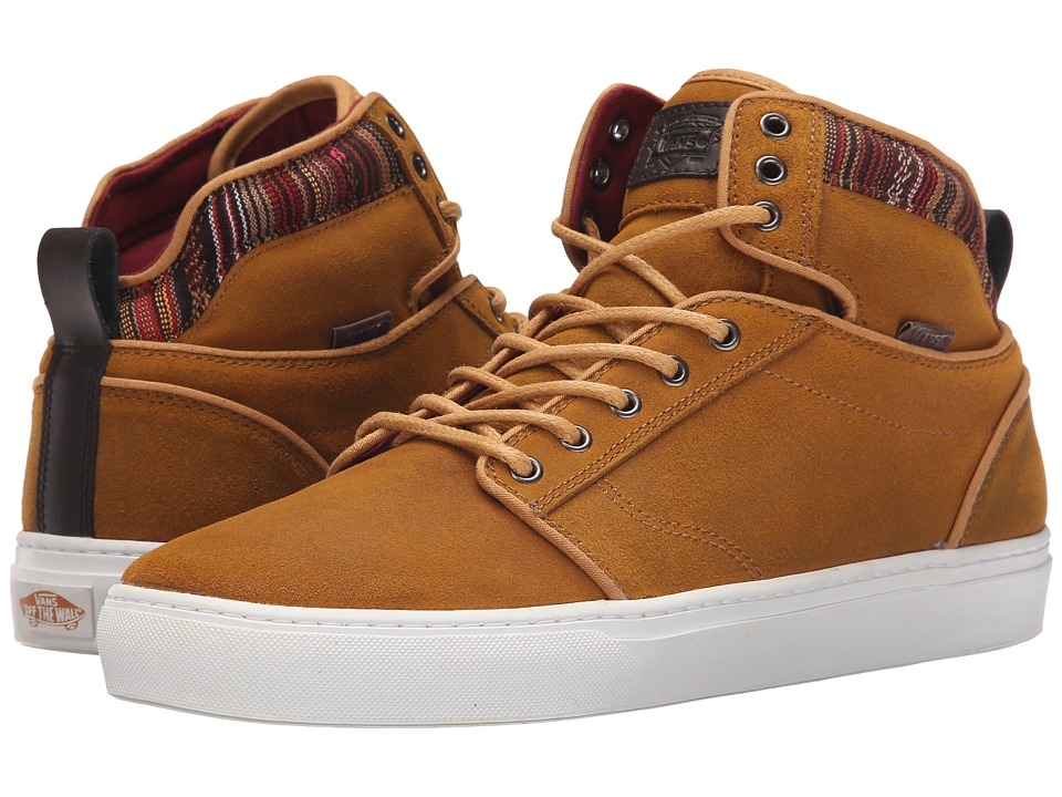 Vans - Alomar + ((Suede/Indo) Spruce Yellow) Men