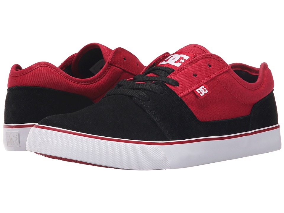 DC - Tonik (Black/Red) Men's Skate Shoes