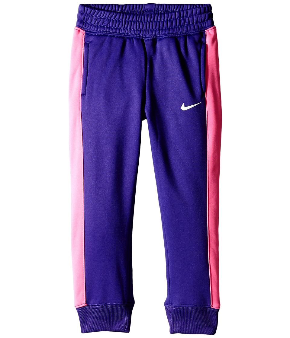 Nike Kids - KO 3.0 Fleece Pants (Toddler) (Court Purple) Girl's Casual Pants